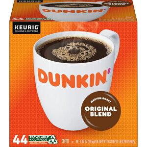 【ポイント5倍】【送料無料】 キューリグ K-CUP(Kカップ) ダンキンドーナッツ オリジナルブレンド ミディアムロースト コーヒー 44個入 Dunkin Donuts アメリカ