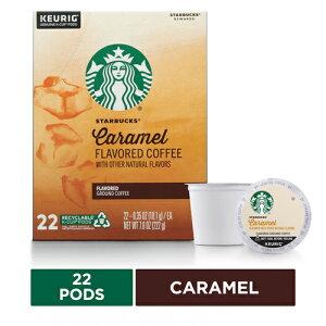 【ポイント5倍】 キューリグ K-CUP(Kカップ) スターバックス キャラメルフレーバー ミディアムロースト コーヒー 22個入 Starbucks アメリカ