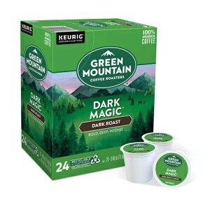 【送料無料】【ポイント5倍】 キューリグ K-CUP(Kカップ) グリーンマウンテン ダークマジック ダークロースト コーヒー 24個入 Green Mountain アメリカ