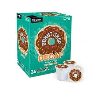 【ポイント5倍】 キューリグ K-CUP(Kカップ) オリジナルドーナッツショップ ディカフェ ミディアムロースト コーヒー 24個入 Original Donut Shop アメリカ