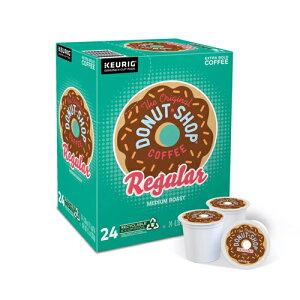 【送料無料】【ポイント5倍】 キューリグ K-CUP(Kカップ) オリジナルドーナッツショップ レギュラー ミディアムロースト コーヒー 24個入 Original Donut Shop アメリカ
