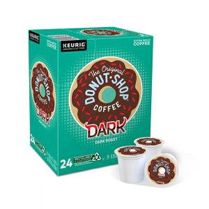 【送料無料】【ポイント5倍】 キューリグ K-CUP(Kカップ) オリジナルドーナッツショップ ダークロースト コーヒー 24個入 Original Donut Shop アメリカ