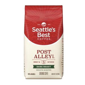 【ポイント5倍】 シアトルベストコーヒー Seattle's Best Coffee ポストアリー ダークロースト グラウンドコーヒー(挽き豆) 340g コーヒー コーヒー豆 アメリカ