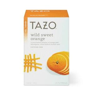 【ポイント5倍】 ハーブティー タゾ Tazo ワイルド スイート オレンジ ハーブティー ティーバッグ 20個入