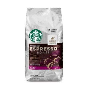 【ポイント5倍】 スターバックス Starbucks エスプレッソロースト ダークロースト ホールビーン(コーヒー豆) 340g コーヒー コーヒー豆 アメリカ