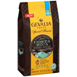 【ポイント5倍】 ゲバリア Gevalia コスタリカ シェイド グロウン ミディアムロースト グラウンドコーヒー(挽き豆) 283g コーヒー コーヒー豆 アメリカ