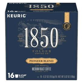 【ポイント5倍】 キューリグ K-CUP(Kカップ) フォルジャーズ 1850 パイオニア ブレンド ミディアムロースト コーヒー 16個入り