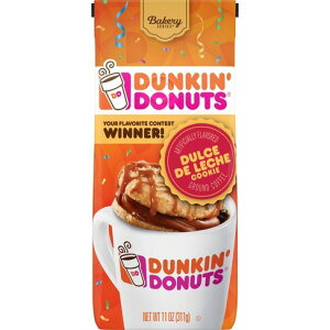 【ポイント5倍】 ダンキンドーナツ Dunkin' Donuts ドルチェ デ リーチ ミディアムロースト グラウンドコーヒー(挽き豆) 311g コーヒー コーヒー豆 アメリカ