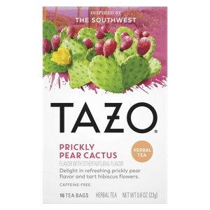【ポイント5倍】 タゾ Tazo ハーバル プリクリィ カクタスペア ハーブティー ティーバッグ 16個入 ハーブティー アメリカ