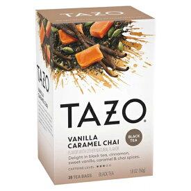 【ポイント10倍】 タゾ Tazo チャイ バニラ キャラメル ブラックティー ティーバッグ 20個入 紅茶 ティー アメリカ