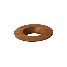 【あすつく】ORIGAMIロゴ入りドリッパーホルダー ダークブラウン  珈琲 陶器 磁器 日本製 美濃焼 ケーアイおりがみ 02 01