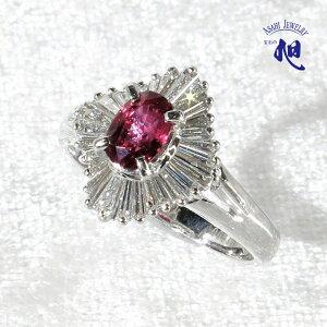 ルビー リング 0.64ct ダイヤモンド 0.53ct プラチナ 10号指輪 PLATINUM RUBY DIAMOND RING ギフト プレゼント 誕生日 記念日 お祝い 着物 パーティ 初回サイズ直し無料 高品質 送料無料 無料ラッピング