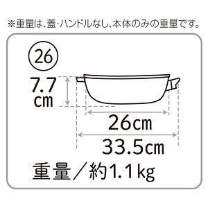 オールパンゼロクリア(26cm)[アサヒ軽金属公式ショップ]