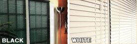 ブラインド ブラック ホワイト セミオーダー 横幅165×高さ210cm セミオーダー サイズ加工可能