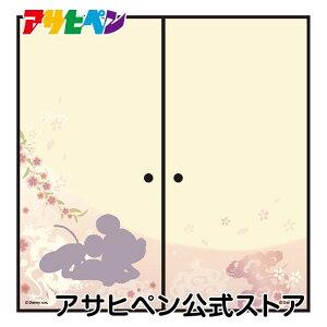[アサヒペン公式]ディズニーふすま紙 ミッキー和 NTLD-003F