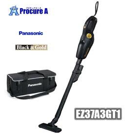 【数量限定特価】【あす楽】【40周年限定モデル】 Panasonic 工事用充電クリーナー EZ37A3GT1 BLACK&GOLD ※本体のみ※ ケース(EZ9522)付き! <EZ37A3の限定色>