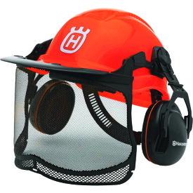 ハスクバーナ・ゼノア H576412401 ヘルメット フォレストヘルメット 安全 チェーンソー 林業 草刈り 芝刈り 耳栓 イヤーマフ