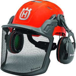 【予約注文】ハスクバーナ・ゼノア H585058401 ヘルメット フォレストヘルメット 安全 チェーンソー 林業 草刈り 芝刈り 耳栓 イヤーマフ【次回納期:9月下旬頃(2021/09/14現在)】