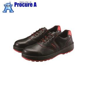 シモン 安全靴 短靴 SL11−R黒/赤 24.0cm SL11R-24.0 ▼325-5557 (株)シモン