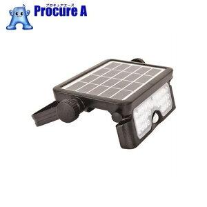 日動 ソーラーLEDセンサーライト エコフラッシュミニ5WSOL5PIR60K▼206-6528日動工業(株)
