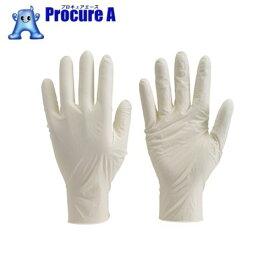 TRUSCO 使い捨て極薄手袋  S ホワイト (100枚入) TGL-493S ▼330-3659 トラスコ中山(株)
