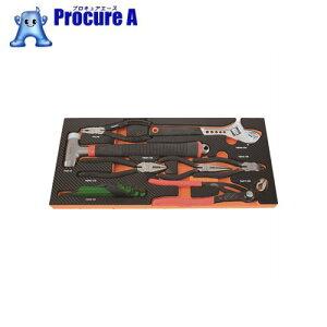 TRUSCO EVAフォーム 黒×オレンジ 3段式工具箱用底面 TPT55SF3 ▼856-6748 トラスコ中山(株)