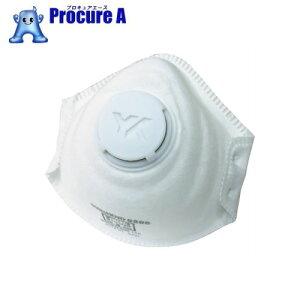 YAMAMOTO 使い捨て式防じんマスク(排気弁付) 5300-A ▼421-8892 山本光学(株)
