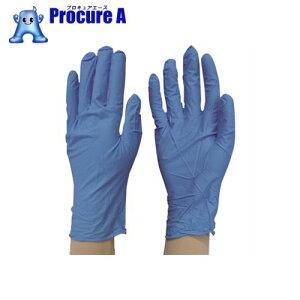 ダンロップ 粉なしニトリル極うす手袋100枚入BR900 M ブルー 5956 ▼107-1158 (株)ダンロップホームプロダクツ