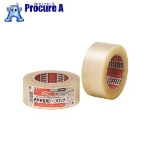 ニトムズ 透明梱包用テープ ロング J6180 ▼441-8280 (株)ニトムズ