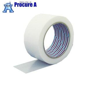 パイオラン 梱包用テープ 50mm×25m ホワイト K-10-WH ▼356-4011 ダイヤテックス(株)