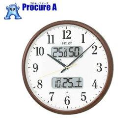 SEIKO 電波掛時計 P枠KX383B▼492-2204セイコータイムクリエーション(株)