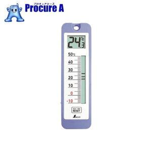 シンワ デジタル温度計 D−10 最高・最低 防水型 73043 ▼147-7631 シンワ測定(株)
