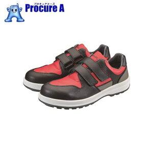 シモン トリセオシリーズ 短靴 赤/黒 27.5cm 8518RED/BK-27.5 ▼360-7909 (株)シモン