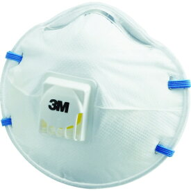 3M 使い捨て式防じんマスク 8805 DS2  排気弁付き (10枚入) 8805DS2 ▼373-9767 スリーエム ジャパン(株)安全衛生製品事業部