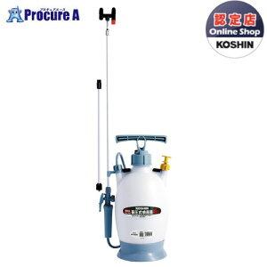 KOSHIN 蓄圧式噴霧器 ミスターオート 4L  伸縮ノズルHS403BT▼ko591-0408819(株)工進【代引決済不可】