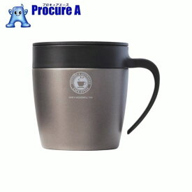 アスベル 真空断熱マグカップ MG−S330N メタリックグレー 325250 ▼833-8965 アスベル(株)