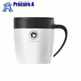 アスベル 真空断熱マグカップ MG−S330N パールホワイト 325298 ▼833-8966 アスベル(株)