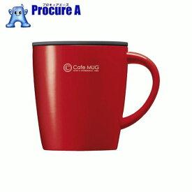 アスベル SP真空断熱マグカップ MG−T240 レッド 323447 ▼861-0225 アスベル(株)