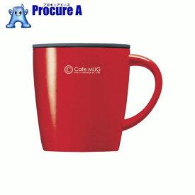 アスベル SP真空断熱マグカップ MG−T330 レッド 323348 ▼861-0228 アスベル(株)
