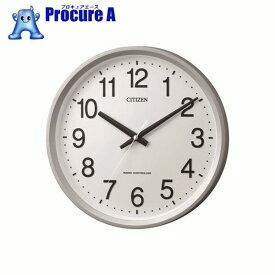 シチズン 電波掛時計 4MYA24-019 ▼835-6081 リズム時計工業(株)