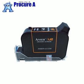 テクノマーク U2用42ccインク 青 AU203-001-6 ▼819-4052 山崎産業(株)
