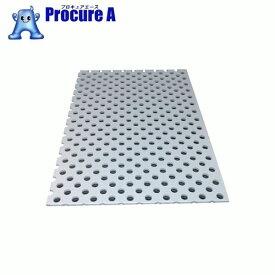 アルインコ アルミ複合板パンチ 3X600X450 シルバー CG46P-21 ▼784-9826 アルインコ(株) アルミ型材センター