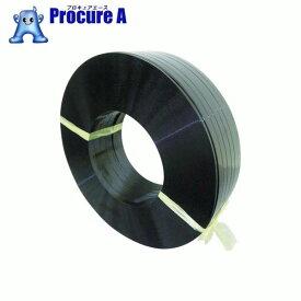積水 ポリエステルバンド1604×1400M−黒 PET1604M ▼798-2801 積水樹脂(株)