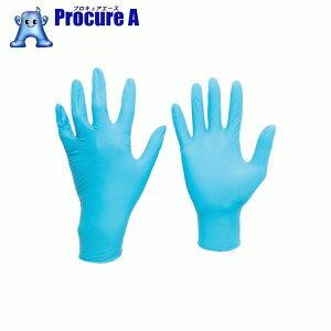 ミドリ安全 ニトリル使い捨て手袋 薄手 粉なし 青 L (100枚入)VERTE772L▼447-8622ミドリ安全(株)