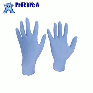 ミドリ安全 ニトリル使い捨て手袋 極薄 粉なし  青 LL (200枚入)VERTE770LL▼829-1065ミドリ安全(株)