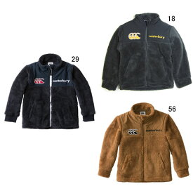 f8135cbfd2e2c キッズ 長袖 アウター カンタベリー CANTERBURY フリース ジャケット ラグビー ウェア 子供服 特価 セール RAJ48760