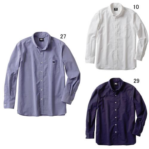 カンタベリー 【CANTERBURY】L/Sストレッチ ボタンダウンシャツ 2017FW NEW セール RA47580
