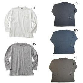 長袖 Tシャツ コットン カンタベリー ラグビーウェア メンズ ロングスリーブ ヘビーTシャツ RA48135 セール