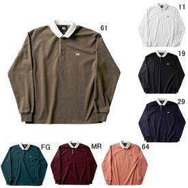 ラガーシャツ 長袖 襟付 メンズ カンタベリー canterbury ソリッド カラー ラグビージャージ 男女共用 ラグビー 無地 綿 タウンユース / RA48560 セール