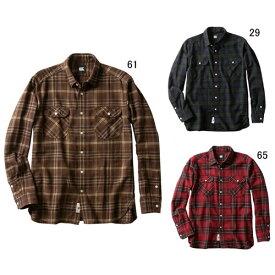 長袖 ワイシャツ メンズ カンタベリー CANTERBURY マドラス チェック ワークシャツ ラグビー 襟付 ウェア セール RA49565